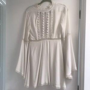 FOR LOVE & LEMONS white dress